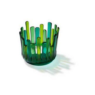 """Telysgrotte """"Bit for bit"""", grønn-toner-0"""