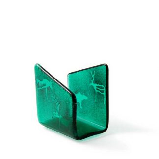 Serviettholder, grønn, Vidda-0