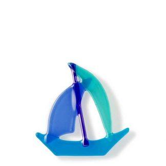 Båt, turkis, himmelblå og vannblå-0