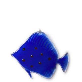 Fantasifisk, koboltblå-0
