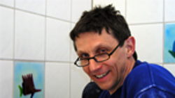 Dieter, daglig leder hos Arctic glasstudio